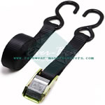 2 tie down straps bulk supplier-black ratchet straps