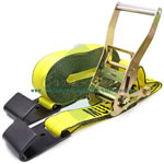 2 x 25' 27' 30' Commercial heavy duty 1 ratchet straps