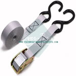 25mm cam buckle lashing straps with double S hooks for motorcycle Surfboards Paddle Boards and Kayaks