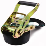 38mm 1.5inch heavy duty tie down ratchet lashing belt for cargo securing 3000kgs strap