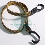 Adjustable elastic bungee rope cord bungee cord flat with hook