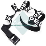 Black Embroidery nylon webbing and buckles