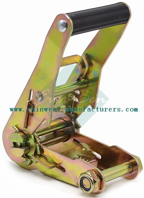 038 High quality 1.5 Inch Plastic Handle tie down buckle For Strap