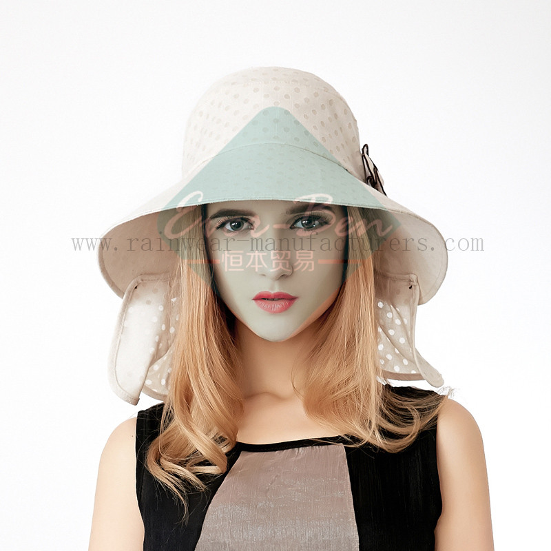 Fashion sun protection hats for girls1