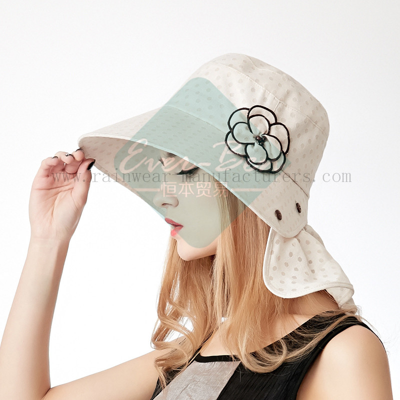 Fashion sun protection hats for girls3