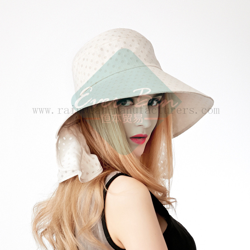Fashion sun protection hats for girls4