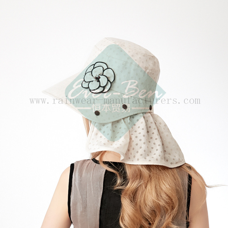 Fashion sun protection hats for girls5