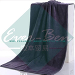 Black microfiber spa towels supplier