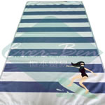 China cool beach towels producer