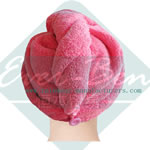 Microfiber Hair Drying Towel Ultra Absorbent Twist supplier