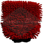 Red microfiber car cleaning rags