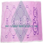 big microfiber towels with printing patterns