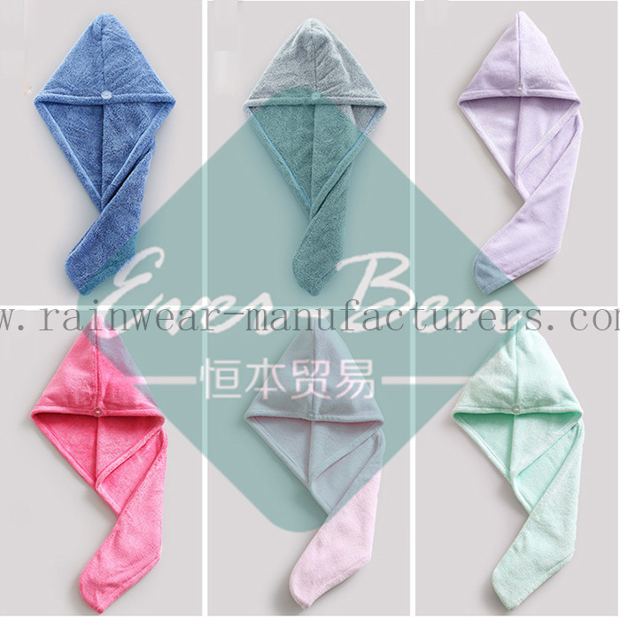 bath towel sets Microfiber hair dry towel