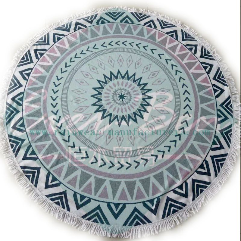 large round beach towels producer