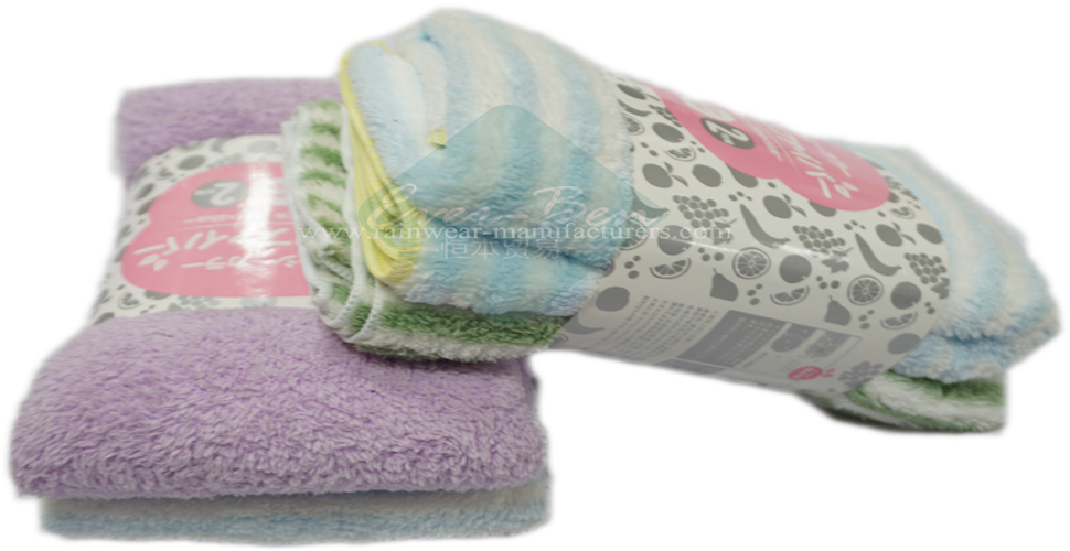 Thick microfiber towels