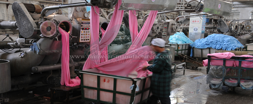 towel fabric dyeing manufactory
