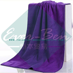 microfiber purple personalised bath towels