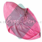 pink microfiber fast drying towel hair towel supplier