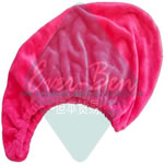 red microfiber hair towel wrap supplier