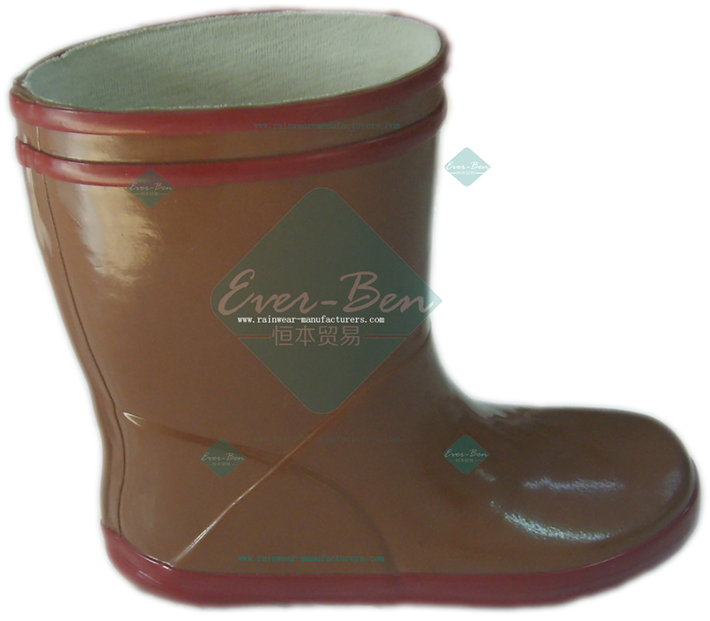 Rubber 019 - toddler rubber boots