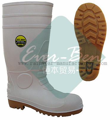 Rubber 021 - white rubber fishing boots outdoor rubber boot