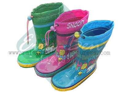 Rubber 038 - female rubber boots