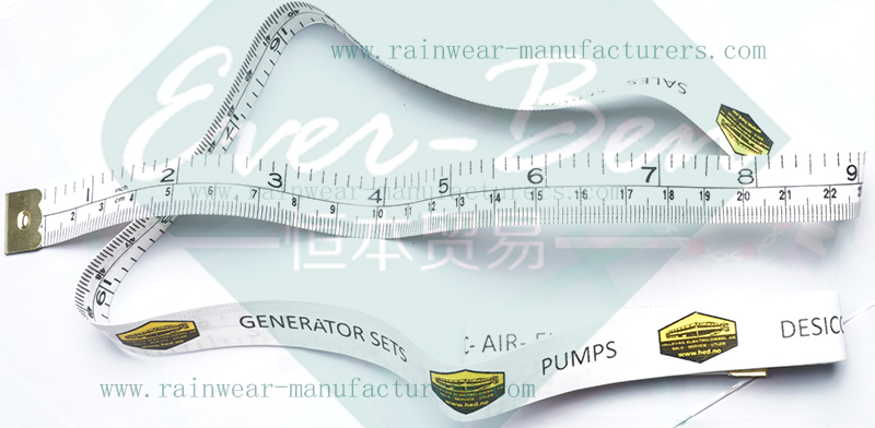 050 wholesale Promotional fabric tape measure with logo