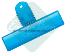 office supply products-Binder Paper clip-Plastic blue large paper clip wholesale